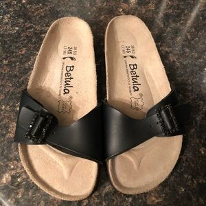 New Birkenstock black  sandals 7